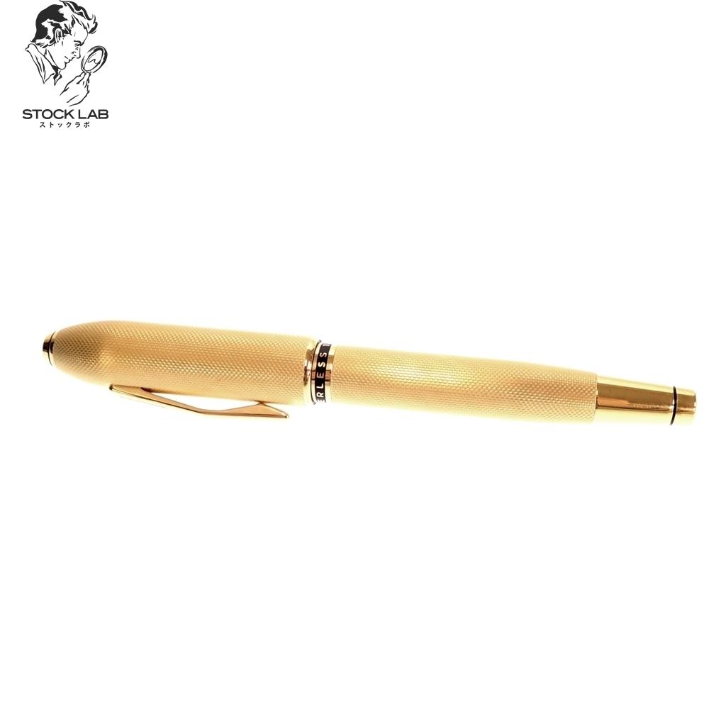 未使用◆CROSS クロス ピアレス125 AT0706-4 ペン先18K 750 万年筆 ゴールド 箱/ケース付き