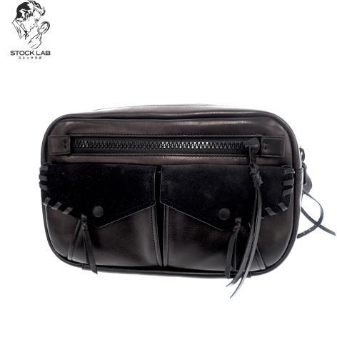 美品◆COACH コーチ 36474 ユーティリティー レザー ボディバッグ ウエスト ワンショルダー 黒 メンズ