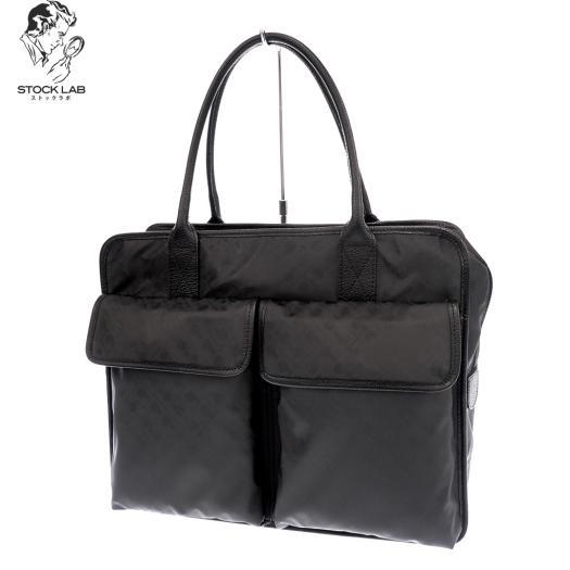 未使用◆GHERARDINI ゲラルディーニ SOFTY ソフティ ハンドバッグ トート ショルダー 黒 レディース