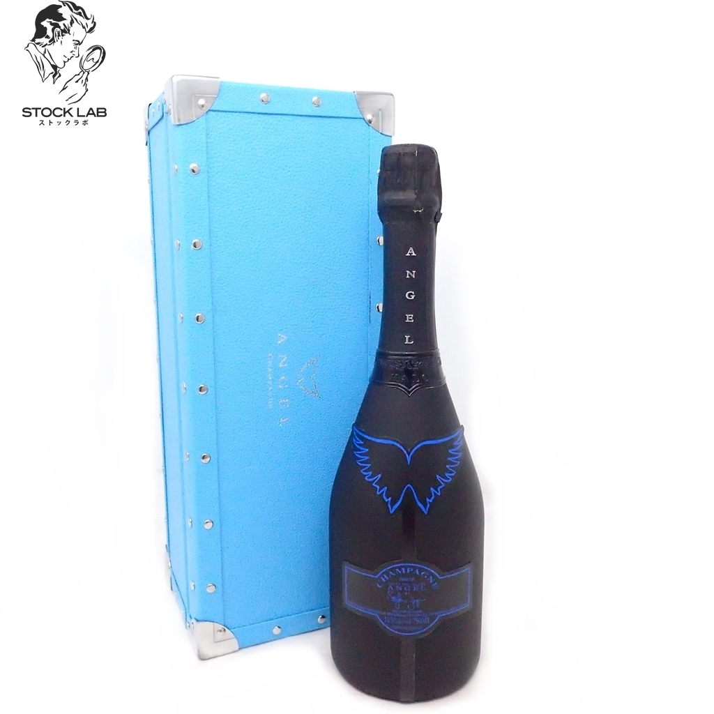 未開栓★ANGEL エンジェル シャンパン ヘイロー ブルー 750ml 箱付