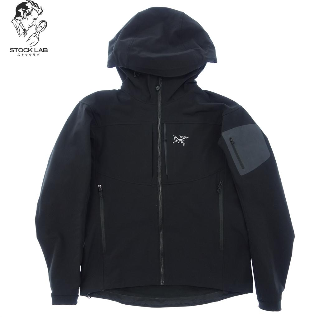 美品◆ARCTERYX アークテリクス 34438 ナイロンマウンテンパーカー ジャケット L 黒 メンズ