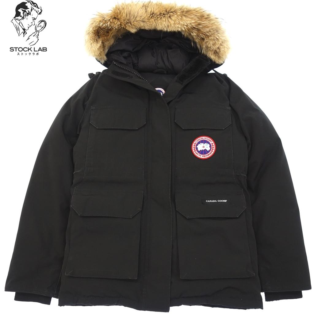 中古◆CANADA GOOSE カナダグース 4078JL ダウンジャケット コート M 黒 メンズ