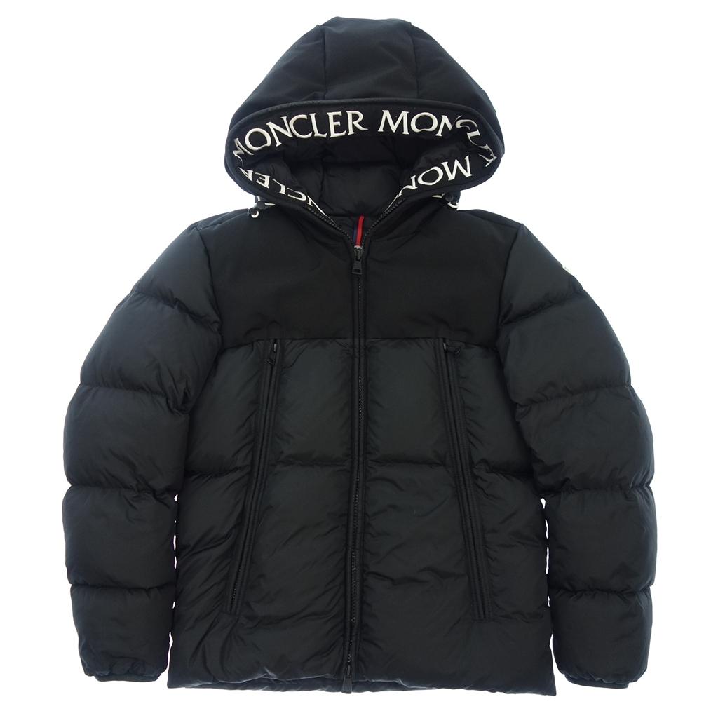 美品◆MONCLER モンクレール MONTCLAR モンクラー フード付き ダウンジャケット 1 黒 メンズ