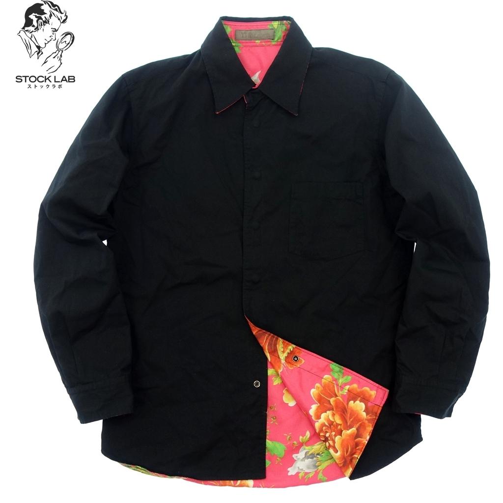 美品◆Yohji Yamamoto ヨウジヤマモト Y's for men リバーシブルシャツ ジャケット